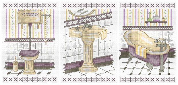 Bathroom Cross Sch Patterns